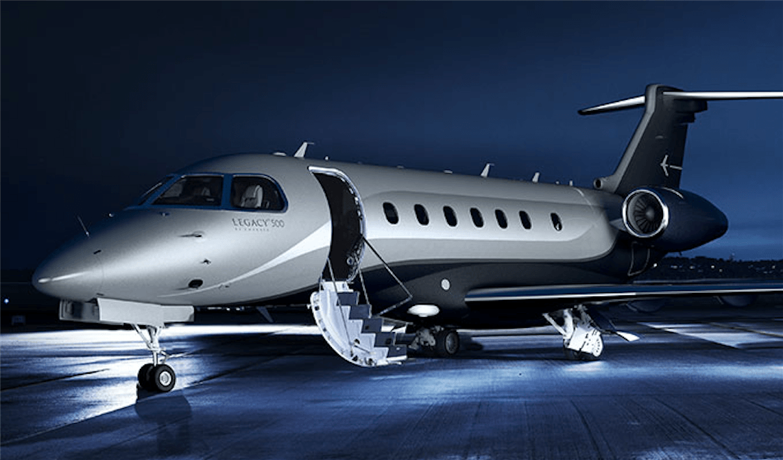 Business-Jets Legacy 500