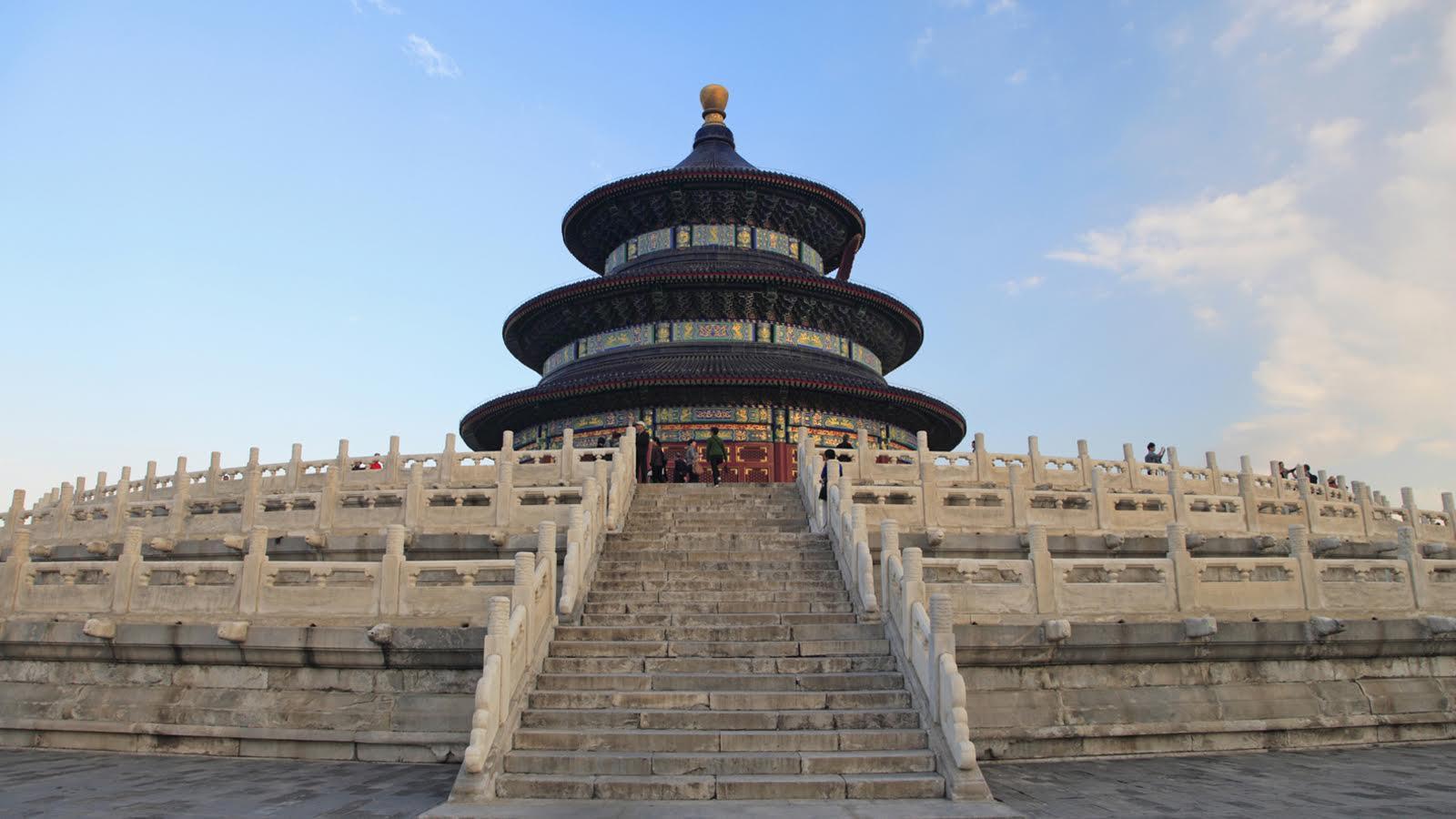 Temple of Heaven in Beijing.