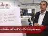 Unternehmenskauf als Privatperson